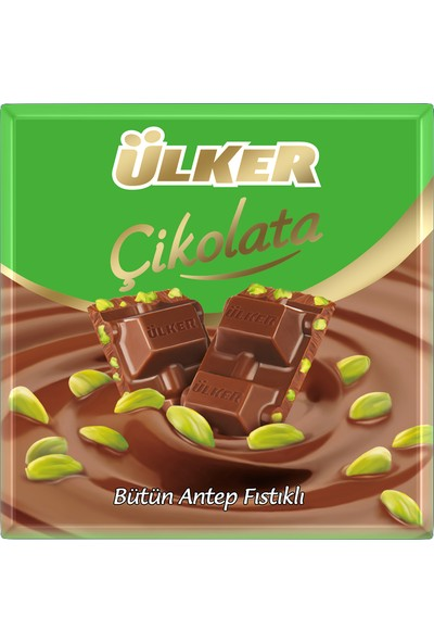 Ülker Fıstıklı Çikolata 70 gr
