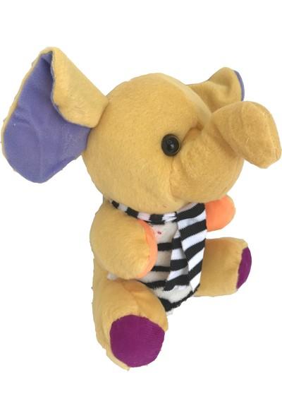 Stuffed Toys Sevimli Peluş Fil Kavuniçi 20 cm
