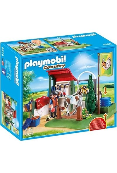 Playmobil Country Horse Grooming Oyun Seti 6929