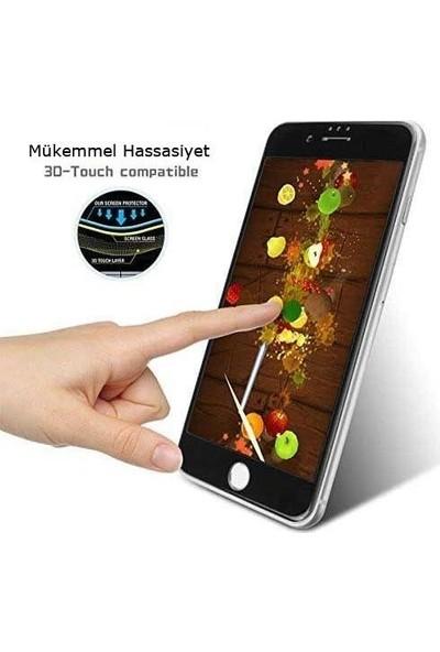 Logis Huawei P40 Lite E 6d Ekran Koruyucu Tam Kaplayan Fiber Nano Cam