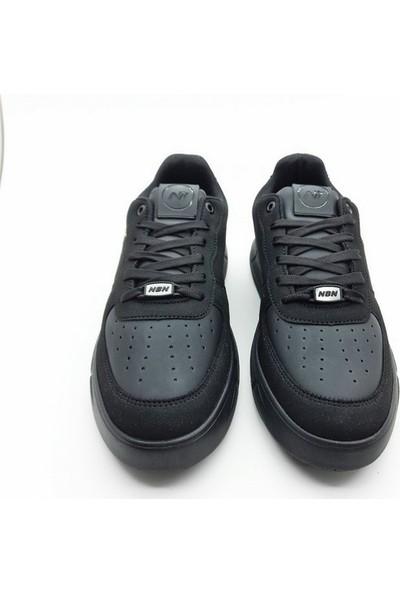Nbn Marka S-Line Model Siyah Erkek Günlük Spor Ayakkabı