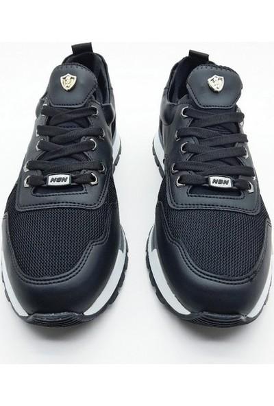 Nbn Marka Prag Model Siyah Günlük Spor Ayakkabı