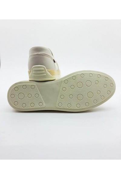 Nbn Marka Saldo Model Bej Günlük Yazlık Spor Ayakkabı Keten Malzeme