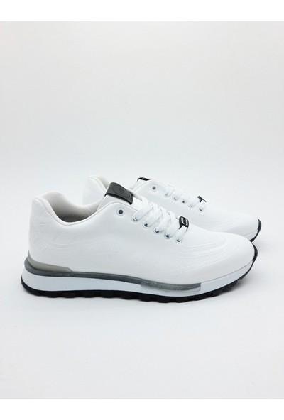 Nbn Marka Vega Model Beyaz Günlük Spor Ayakkabı Rugan Klasik Model