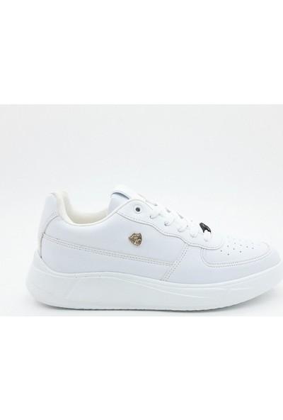 Nbn Marka S-Line Model Beyaz Günlük Spor Ayakkabı