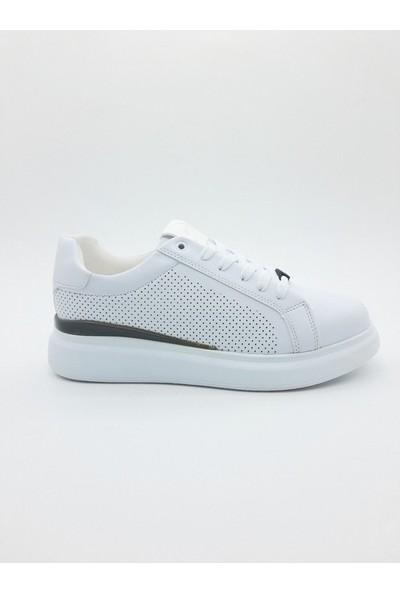 Nbn Marka Denver Model Beyaz Günlük Spor Ayakkabı