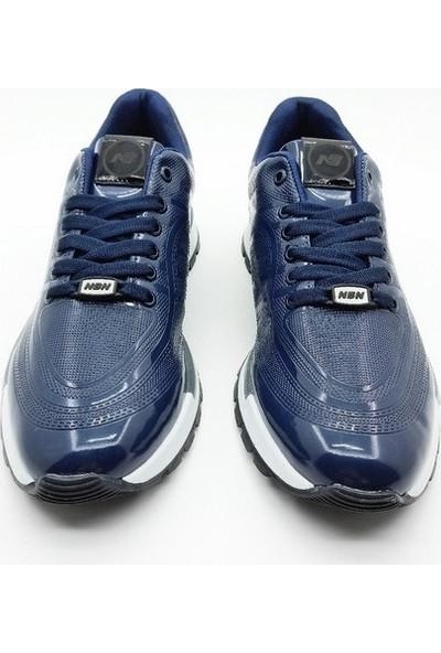 Nbn Marka Vega Model Lacivert Günlük Spor Ayakkabı Rugan Klasik Model