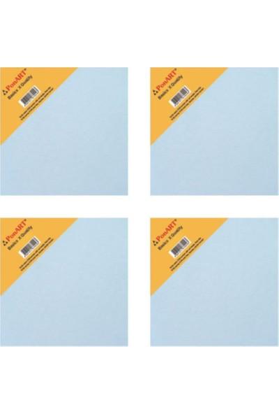 Ponart Basic Tuval 10 x 10 cm 4 Adet