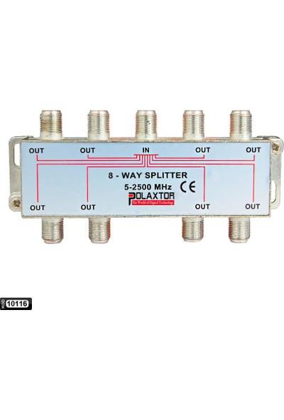 Polaxtor Uydu Splitter 1/8 5-2500 Mhz