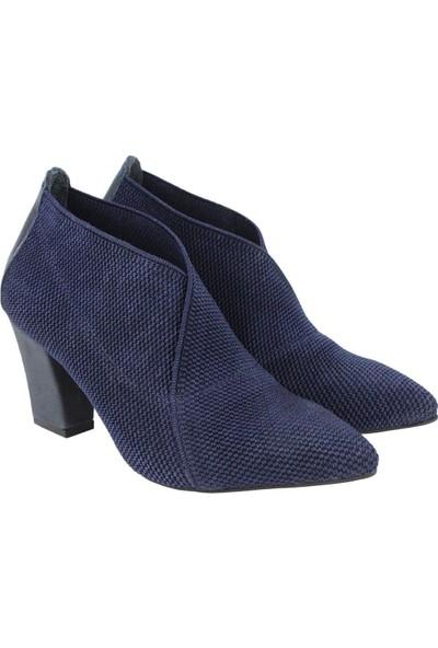 CZ London Deri Kadın Topuklu Ayakkabı