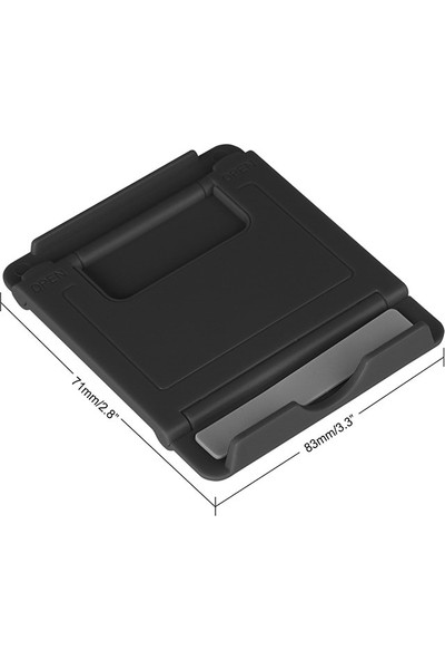 "Fujimax Katlanabilen Kademeli Universal Tablet Stand 6-11"" Siyah"