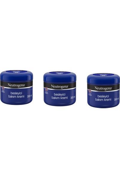 Neutrogena El,vücut,yüz Besleyici Bakım Kremi 300 ml x 3 Adet