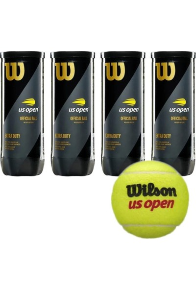 Wilson Us Open 4 Kutu Tenis Topu
