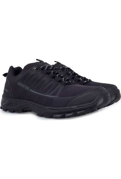 Scooter Su Geçirmez Kışlık Erkek Ayakkabı 516M5232T Siyah 44
