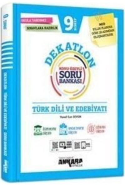 Ankara Yayıncılık Yayıncılık 9. Sınıf Türk Dili ve Edebiyatı Dekatlon Soru Bankası