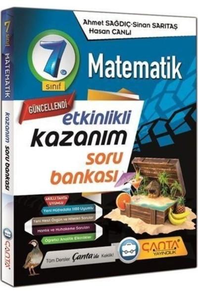 Çanta Yayınları 7. Sınıf Matematik Etkinlikli Kazanım Soru Bankası