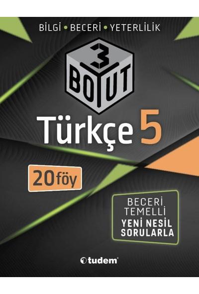 Tudem Yayınları 5. Sınıf Türkçe 3 Boyut