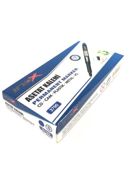 İnox CD Kalemi S Uç 0.8mm 12'li Mavi
