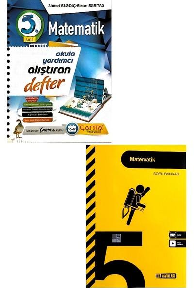 Çanta Yayınları 5. Sınıf Matematik Defteri Hız Yayınları Soru Bankası Seti