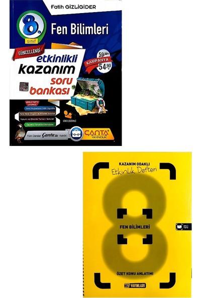 Çanta Yayınları 8. Sınıf Fen Bilimleri Soru Bankası Hız Yayınları Defteri Seti
