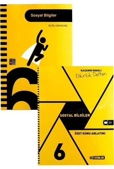 Hız Yayınları 6. Sınıf Sosyal Bilgiler Soru Bankası+Defter Seti(2020)