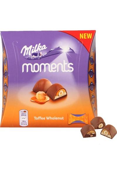 Milka Moments Toffee Wholenut Bütün Fınıdklı Çikolata 97gr