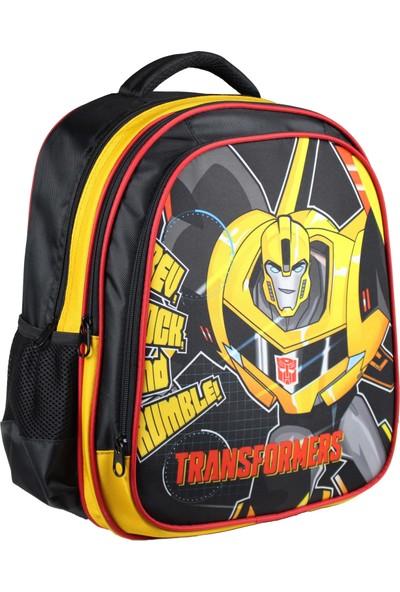 Öykü Transformers Bumblebee Okul Çantası ve Beslenme Çantası Seti