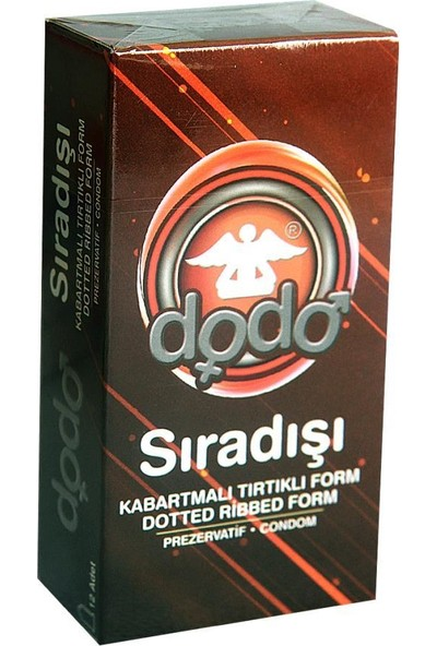 Dodo Prezervatif 4 Kutu Karma (48 Adet)