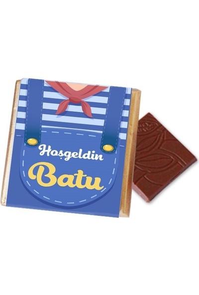 Hayal Sepetim Erkek Bebek Çikolatası 54 Madlen+Draje