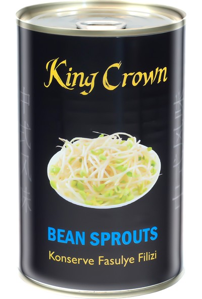 King Crown Konserve Fasulye Filizi 425 G