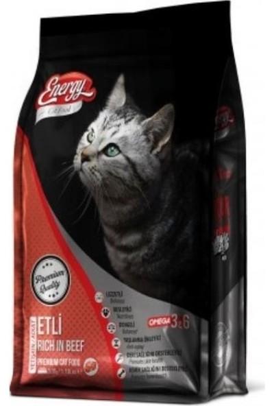 Energy Etli Kedi Maması 1kg