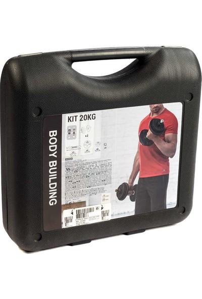 Kas Geliştirme Dambıl Seti - 20 kg Domyos