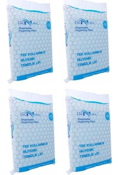 Irmak Şampuanlı Hasta Vücut Yıkama Temizleme Lifi 20LI 4 Paket