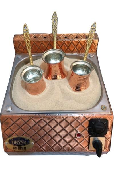 Kutlu Bakır Kumda Kahve Makinesi