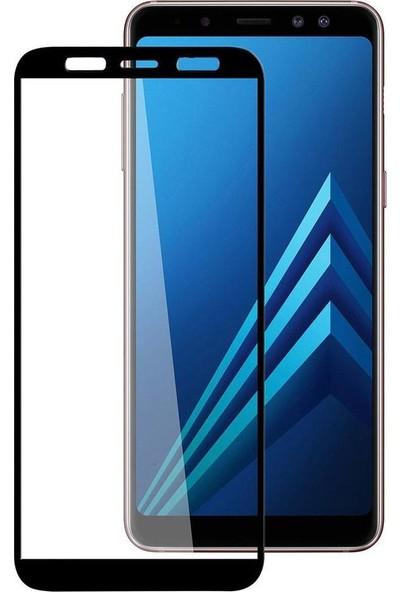 Concord Samsung Galaxy A8 Plus 2018 Ekran Koruyucu 21D Cam Tam Kaplamalı