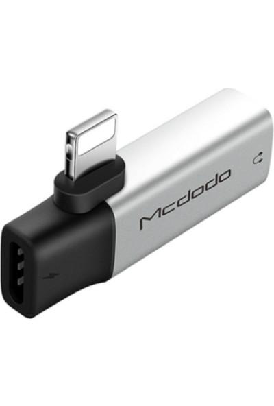 Mcdodo Lightning To Lightning / 3.5mm Gümüş - CA-6211