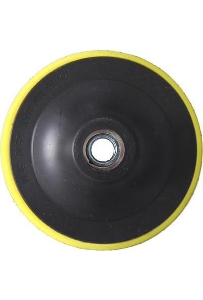 Attlas 115 mm Cırt Taban ve 5'li Zımpara Seti