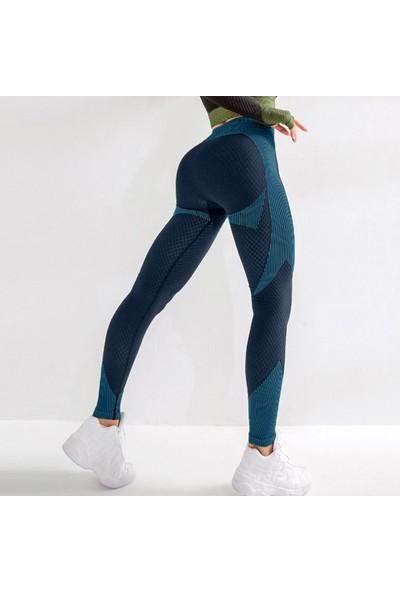 Buyfun Kadın Yoga Pantolon Yüksek Bel Sportif Tayt Tayt