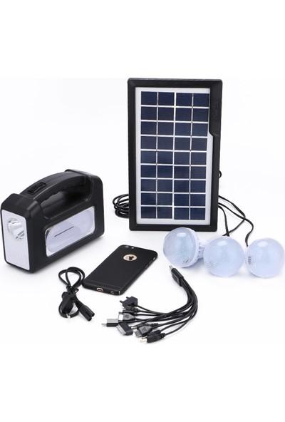 Solar Gdlıte - Mini Güneş Paneli Seti 3 Lambalı GDLITE1611