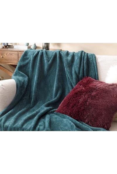 English Home Softy Wellsoft Tv Battaniye 120 x 170 cm Yeşil