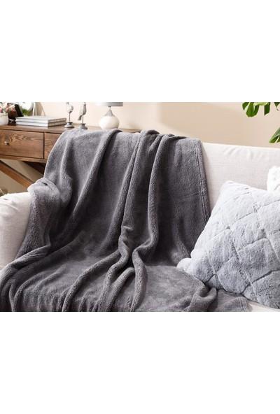 English Home Softy Wellsoft Tv Battaniye 120 x 170 cm Antrasit
