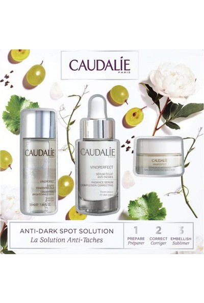 Caudalie Anti-Dark Spot Solution Set - Leke Karşıtı Işıltı Verici Set