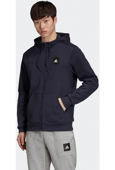 adidas Erkek Sweatshirt Mhs Fz Sta FU0037