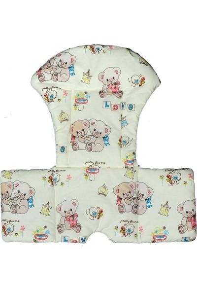 Kidscomfort Mama Sandalyesi Minderi - Sevimli Ayıcıklar