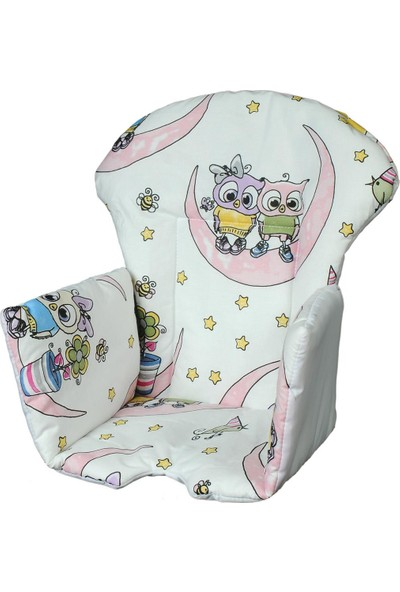 Kidscomfort Mama Sandalyesi Minderi Baykuşgiller