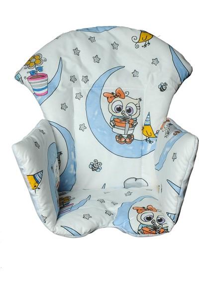 Kidscomfort Mama Sandalyesi Minderi - Meraklı Baykuş
