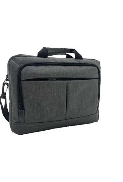"""Differ Lef 240 15.6"""" Gri Bilgisayar Notebook Laptop Çantası"""