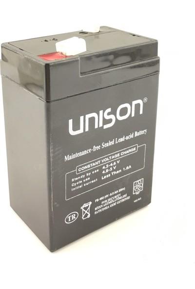 Unison 4V 6 Amper Unıson Kuru Akü
