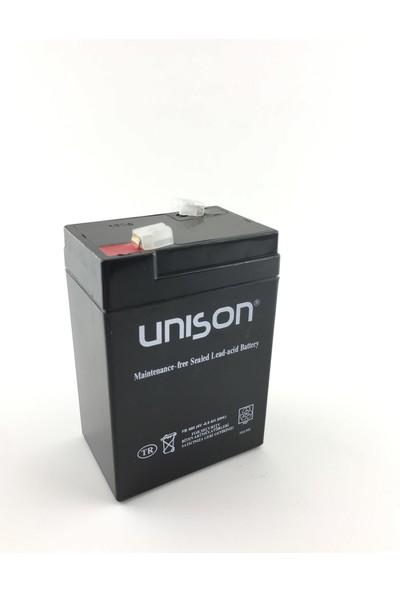 Unison 4V 8 Amper Unıson Kuru Akü