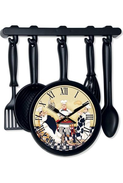 Time Gold Mutfak Saati 383 Siyah